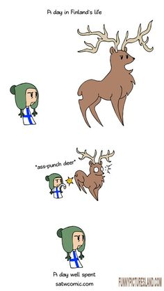 ROFL, this is funny A day with Finland