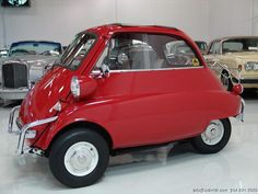 1957 BMW ISETTA - my grandpa used to have one of these!! lol