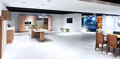 Poggenpohl Showroom Herford +EDITION and Colan Round Kitchen