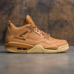 7866784e7890 Jordan Men Air Jordan 4 Retro Pinnacle (ginger   gum yellow) Nike Air Shoes