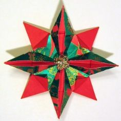 How to Fold an  8-Pointed Origami Star
