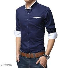Checkout this latest Shirts Product Name: *Cotton Casual Men's Shirt * Fabric: Cotton Sleeve Length: Long Sleeves Pattern: Solid Multipack: 1 Sizes: S, M, L, XL Easy Returns Available In Case Of Any Issue   Catalog Rating: ★4 (219)  Catalog Name: Stylish Cotton Casual Mens Shirts CatalogID_225868 C70-SC1206 Code: 035-1726078-7731