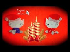 Origami Maniacs 149: Christmas Hello Kitty