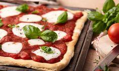 Ein pikanter Hefeteig für Pizza