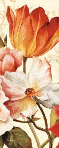 Poesie Florale Panel I Print by Lisa Audit at Art.com
