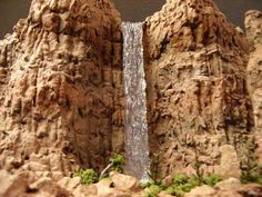 Waterfall Tutorial - The Whistle Post - Model Railroad Forum