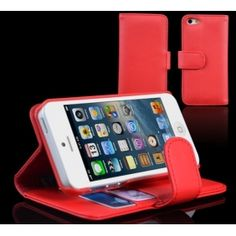 The iPhone 5 Wallet Case and Stand.    On the opposite side of the inner case are two card pockets to neatly store your credit cards, debit cards, ID, and hidden underneath is a separate compartment to store your cash.