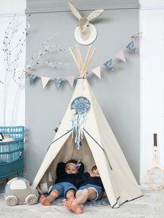 Indianerzelt, Tipi für das Kinderzimmer / teepee for nursery, children toy, joyful home decor made by Handmade of Passion via DaWanda.com