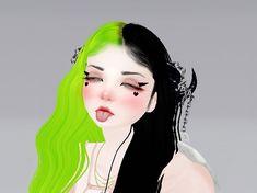 Devil Aesthetic, Aesthetic Grunge, Aesthetic Girl, Aesthetic Anime, I Love Girls, Cool Girl, Virtual Girl, Cute Girl Drawing, Innocent Girl