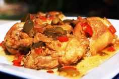 Learn how to make Cuban Chicken Fricassee at the hispanic food network and follow us on facebook for more recipes and videos hispanic food.