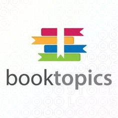 Exclusive Customizable Colorful Educational Books Logo For Sale: Book Topics | StockLogos.com