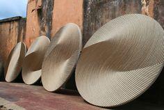 Domingos Totora (He creates amazing pieces with cardboard pulp)