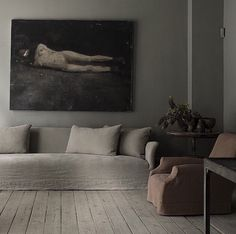 Studio Oliver Gustav, monochromatic, muted tones, soft