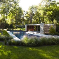 Westport Pool House developed by SPAN Architecture. Find all you need to know about Westport Pool House products and more from Bookmarc. Outdoor Pool, Outdoor Spaces, Outdoor Gardens, Outdoor Living, Architecture Renovation, Landscape Architecture, Landscape Design, Patio Grande, Moderne Pools