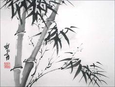 Creating Sumi-e (すみえ) for Beginners-Japanese ink painting Japanese Ink Painting, Sumi E Painting, Japan Painting, Sketch Painting, Chinese Painting, Painting Tattoo, Painting Abstract, Chinese Brush, Chinese Art