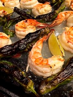 Low in everything except flavor, shrimp and shishito peppers come together in a flash for a quick weekday meal or an impressive, yet effortless, weekend dinner with friends. Really, the only &#8220…