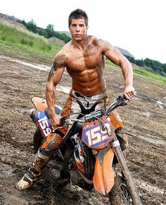 men and dirt makes a good combo <3 HOTTT!!!