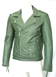 ea229cd37 21 Best Green leather jacket images in 2016 | Green leather jackets ...