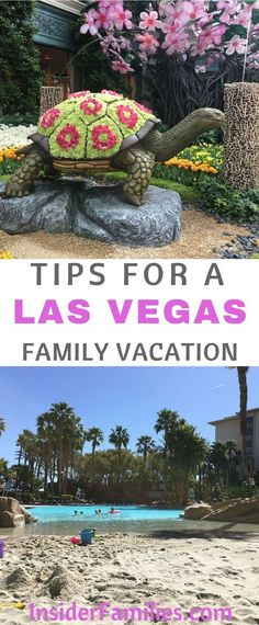 While in general Las Vegas may not be kid-friendly it is possible to bring kids and have a family-friendly good time. Read where to stay off the strip, where to eat and what shows to see. #familyfriendly #lasvegas #TravelDestinationsUsaLasVegas
