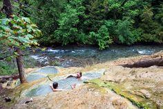 North of Crater Lake, Umpqua Hot Springs