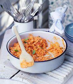 Tomato-risotto