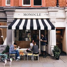 """Sleepy eyed from a long flight & a little sniffly from being sick but it's too pretty out in London to stay inside. #monoclecafe #london #gmgtravels"""