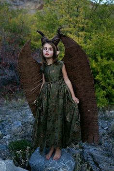 Young maleficent - woodland fairy