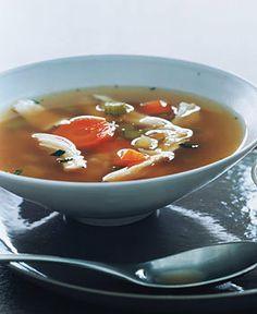 Chicken Soup with Rice Recipe | Food Recipes - Yahoo! Shine
