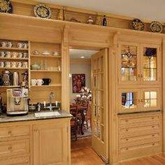 Love this wall unit!