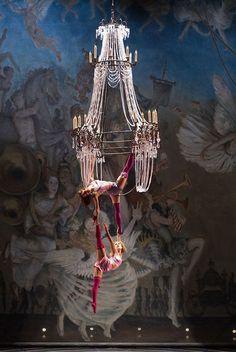 Chandelier Lyra. Circus arts I ❤️you.