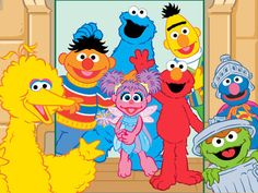 Peekaboo! Who's there? It's all of your favorite friends from Sesame Street in our new app Peekaboo Sesame Street! Now live - https://itunes.apple.com/us/app/peekaboo-sesame-street/id735518912?mt=8
