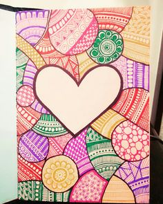 #doodleartwithaheart #multicolour