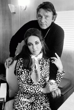 Love Terry O'Neill and Richard Burton/Elizabeth Taylor love.