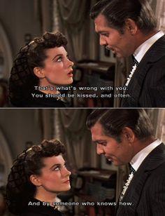 Rhett Butler And Scarlett O'hara | Smile, Wednesday! » Scarlett O'Hara and Rhett Butler