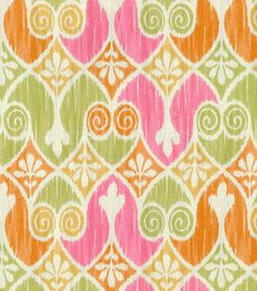 Home Essentials Lightweight Decor Fabric - Sheraton Ikat Popiscle Textiles, Home Decor Fabric, Joanns Fabric And Crafts, Ikat, Craft Stores, Canvas Fabric, Printing On Fabric, Essentials, Interior Design