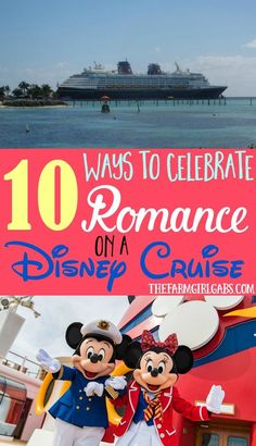 The hubby and I just returned from setting sail on the Disney Wonder. Turns out a Disney cruise isn't just for kids or families. Here are 10 Ways To Celebrate Romance On A Disney Cruise.