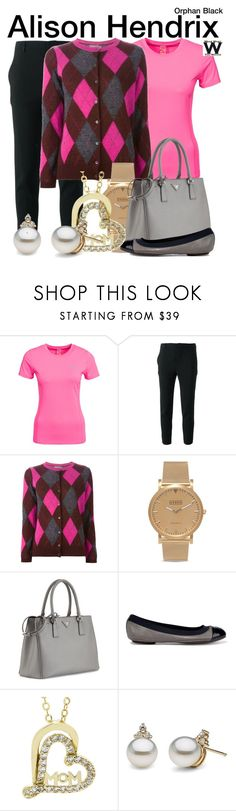 Orphan Black by wearwhatyouwatch on Polyvore featuring moda, Moncler, Kari Traa, Scanlan Theodore, Tory Burch, Prada, Shore Projects, television and wearwhatyouwatch