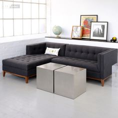 Coffee Tables Gus Stainless Steel Cube Call City Schemes (617)776-7777