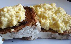 Scrambled Eggs on Sour Dough toast