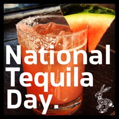 Suerte Tequila -National Tequila Day #itswhatwelivefor #everyday #tequila #followtherabbit #drinkup #asluckwouldhaveit