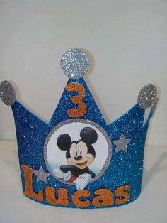 Coronas cumpleaños (goma eva)
