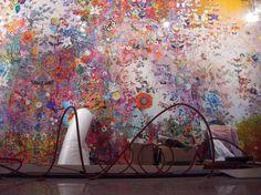 Wallpaper by Claudia Caviezel @ Beijing International Design Week.
