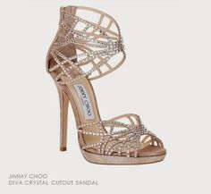 Shop Women's Jimmy Choo Sandal heels on Lyst. Track over 2879 Jimmy Choo Sandal heels for stock and sale updates. Fancy Shoes, Pretty Shoes, Crazy Shoes, Beautiful Shoes, Me Too Shoes, Bridal Shoes, Wedding Shoes, Dream Wedding, Jimmy Choo Shoes