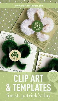 Clip Art & Templates for St Patrick's Day | Martha Stewart Living