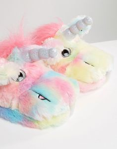 SHOP | Unicorn slippers!!!