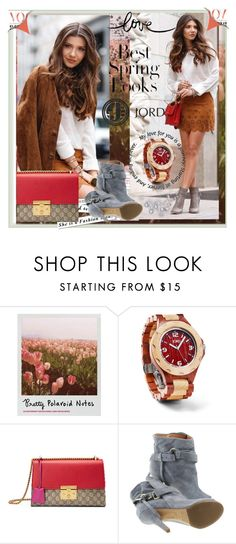 """JORD"" by lip-balm ❤ liked on Polyvore featuring Polaroid, H&M, Gucci, Maison Margiela and jord"
