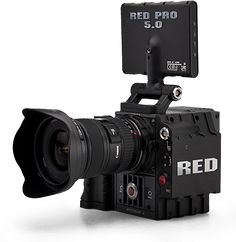 Red Scarlet-X: From the infamous Red Camera line comes the Scarlet-X. A very affordable truly professional camera. Shoots 4K,16-bit RAW, and up to 120 fps. With an interchangeable lens mount, you can use EF, PL, and F-mount lenses. The camera also has 13.5 stops of dynamic range, up to and a plethora of build options to get the setup that you need. A standard camera package costs around $15,000.