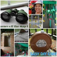 13 Easy And Simple Decoration Ideas For Lifeway VBS 2015 Journey Off The Map
