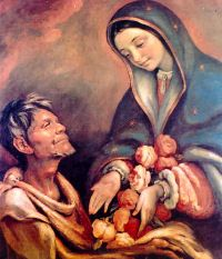 Our Lady of Guadalupe pray for us and the Americas and pro-life movement.  Feast day December 12.