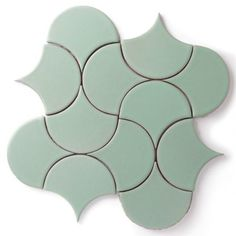 Moroccan Shaped Tile | Fireclay Tile Ogee Drop - Moroccan shape